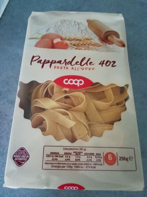 Pappardelle all'uovo